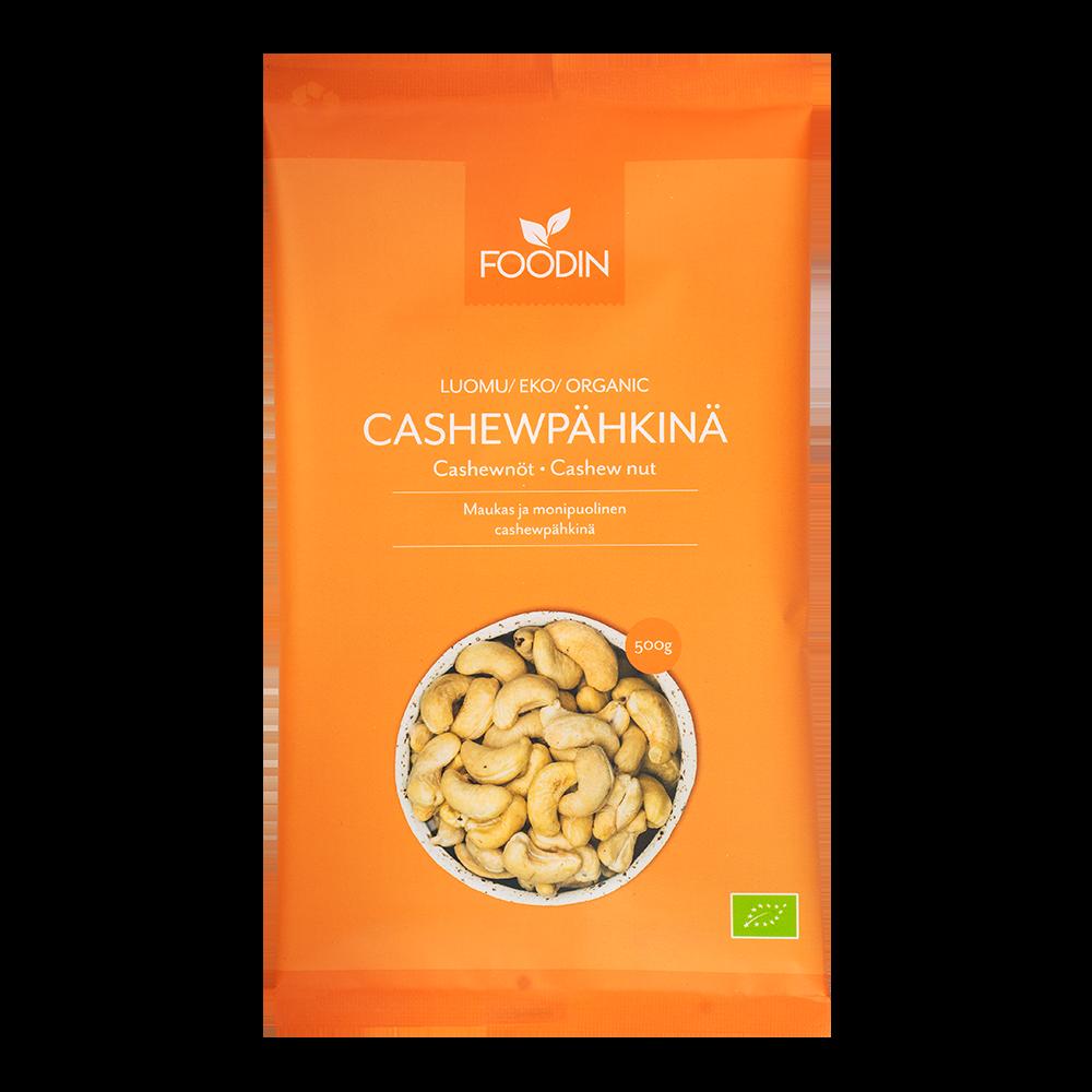 Cashewpähkinä, Luomu, 500g