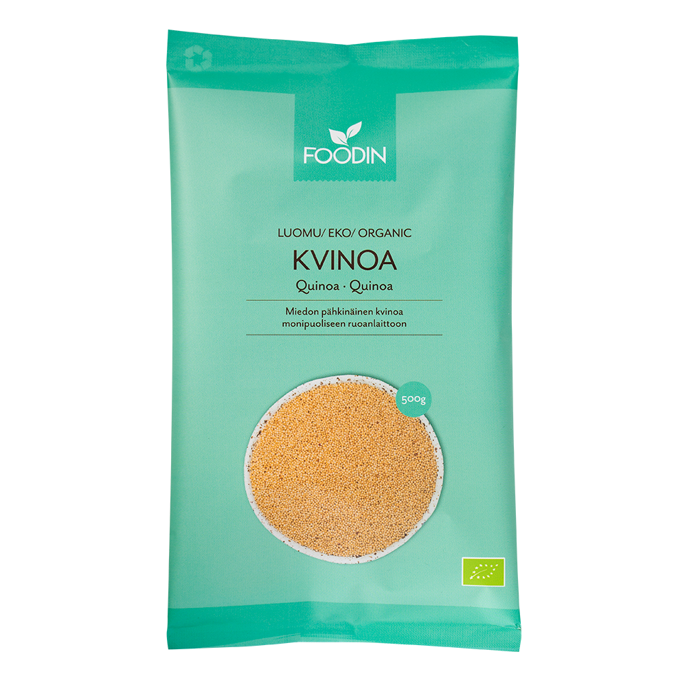 Kvinoa, Luomu, Raaka, 500g