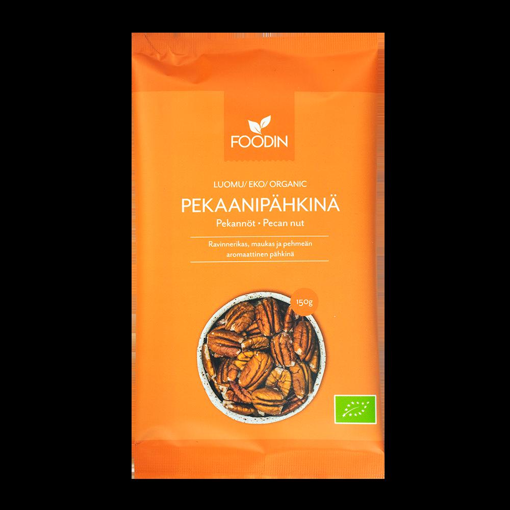 Pekaanipähkinä, Luomu, Raaka, 120g