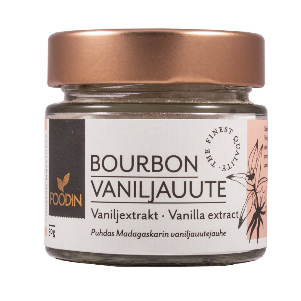 Bourbon vaniljauutejauhe, 50g