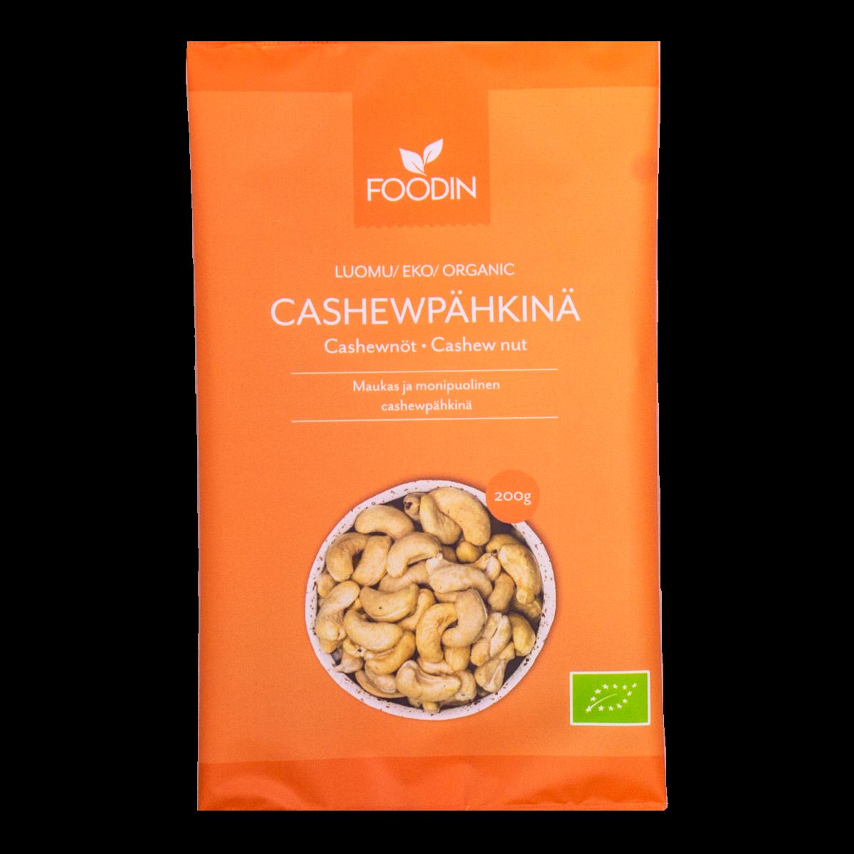 Cashewpähkinä