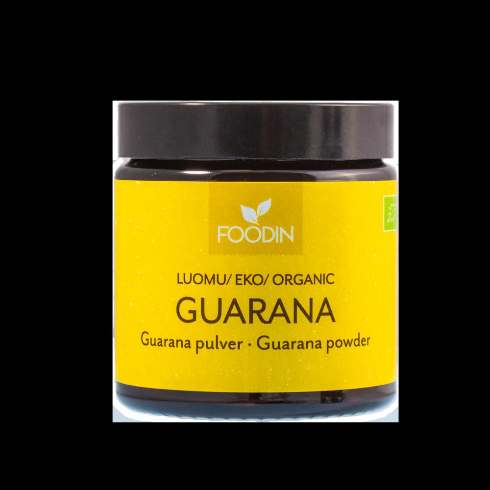 Guarana-jauhe, Raaka, Luomu, 50g