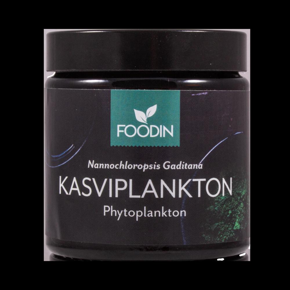 Kasviplankton, phytoplankton, 500mg, 90 kapselia