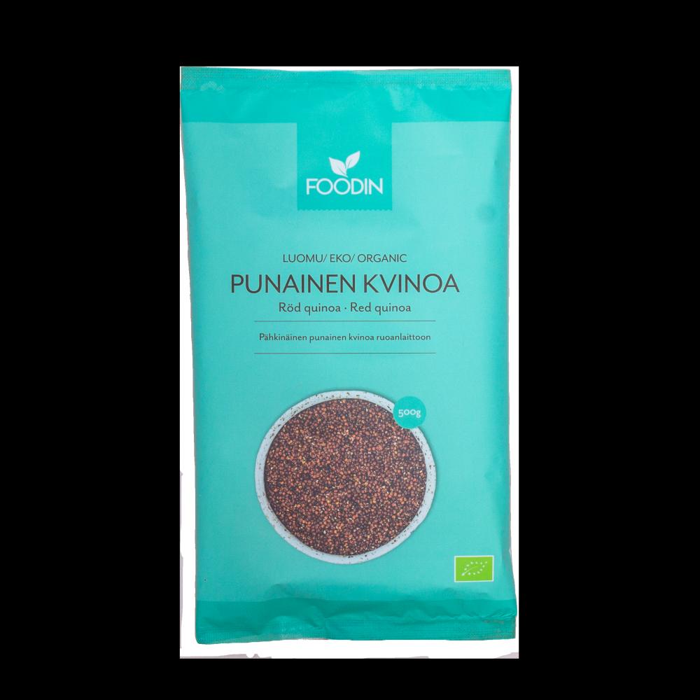 Kvinoa, Punainen, Luomu, 500g