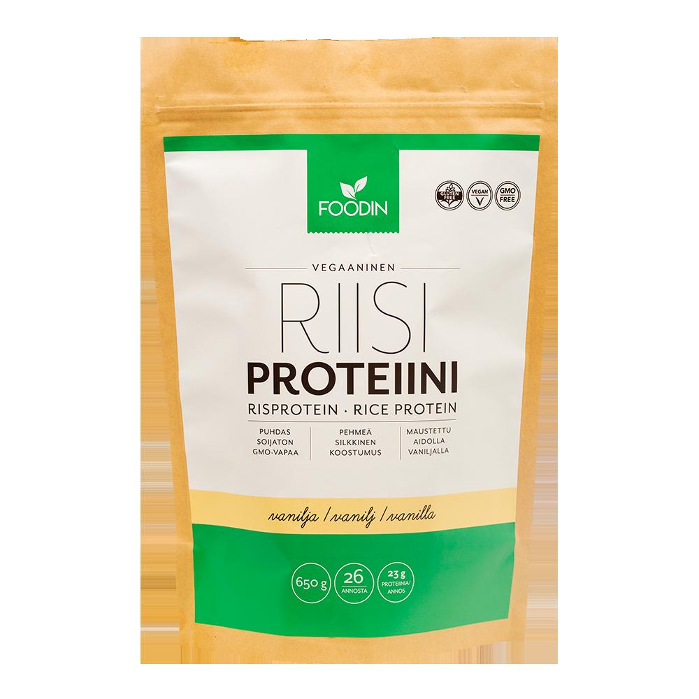 Riisiproteiini, Vanilja 2,5 kg
