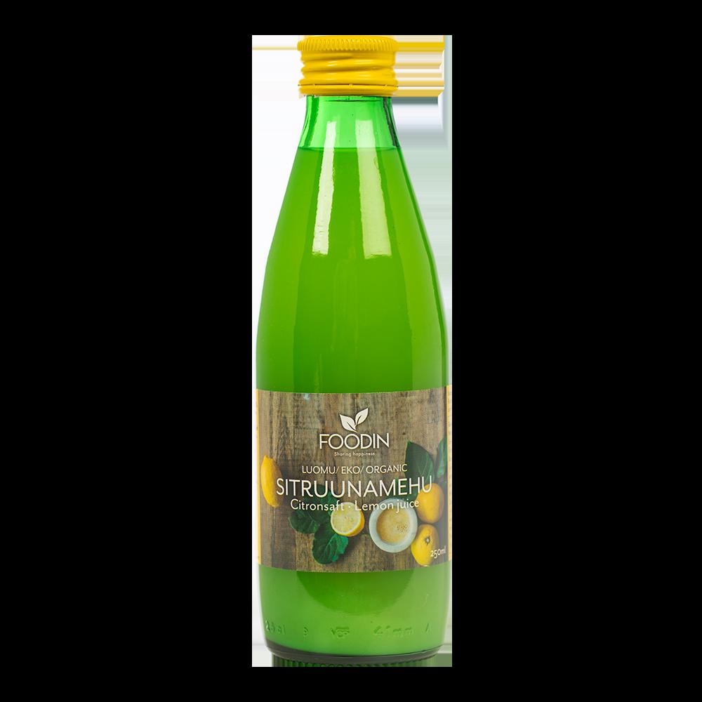 Sitruunamehu, luomu 250ml 12pack