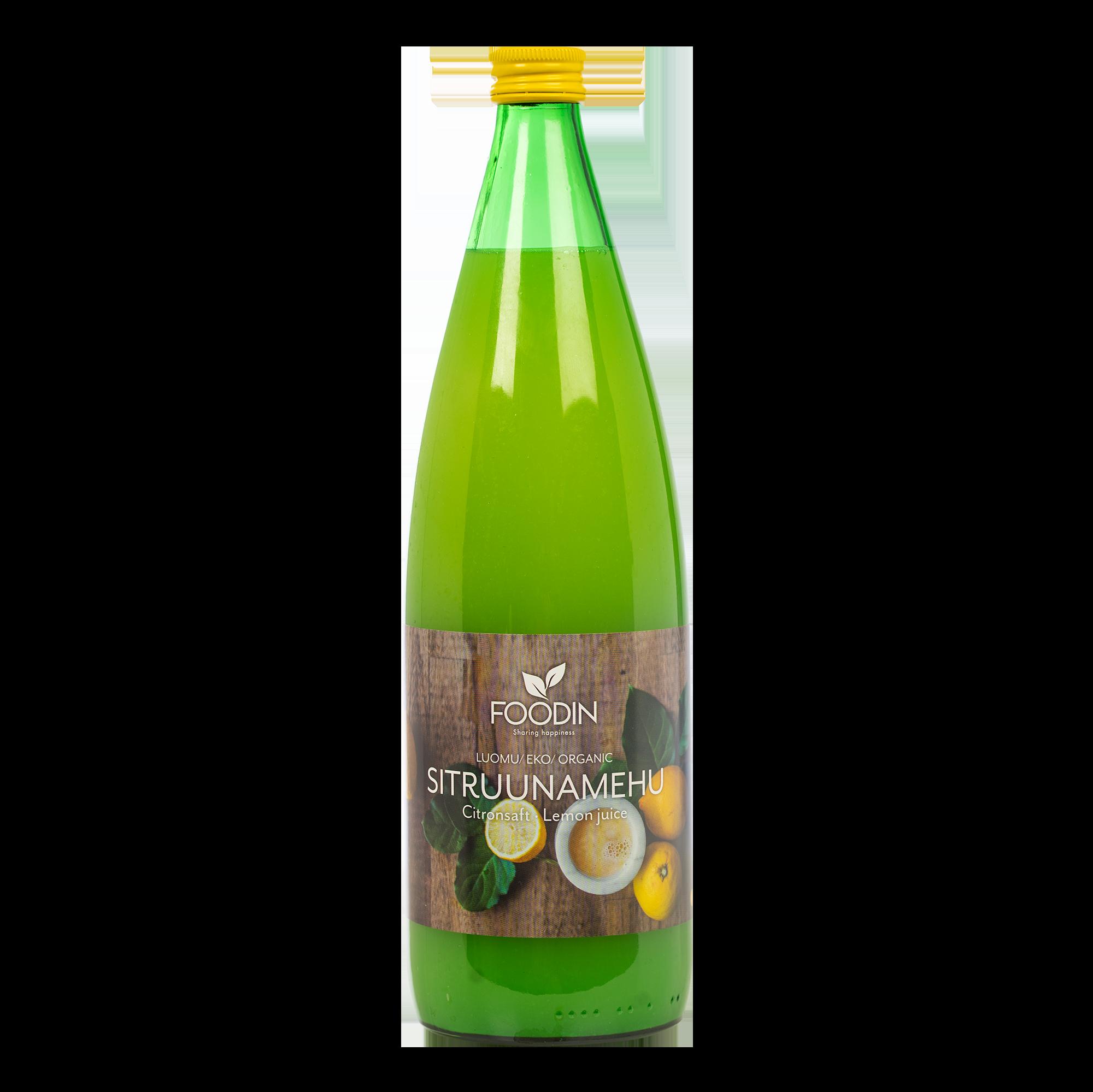 Sitruunamehu, luomu, 1 litra