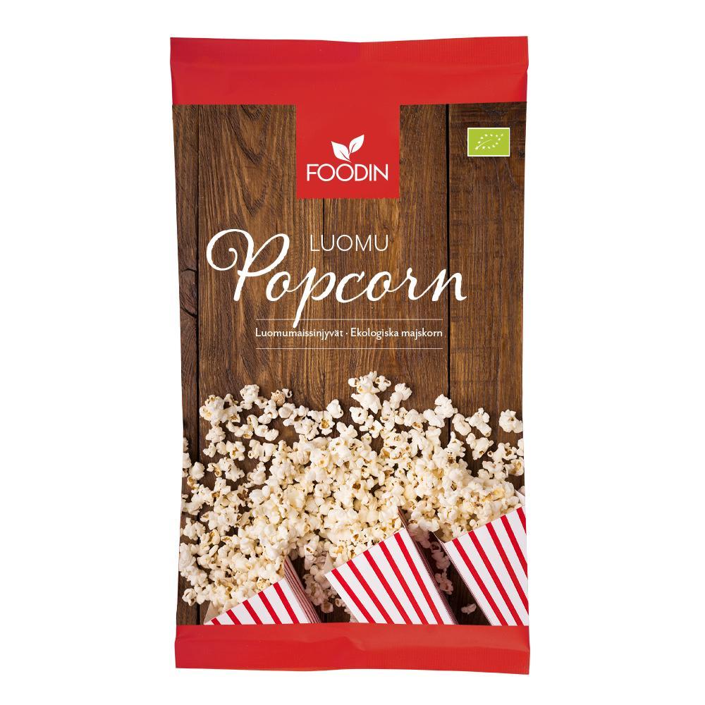 Popcorn, maissinjyvät, luomu 500 g